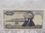 TURCJA 1000 LIRASI 1970 r.St. ( 2+ )
