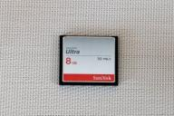 SanDisk CF 8GB ULTRA 50MB/s Compact Flash