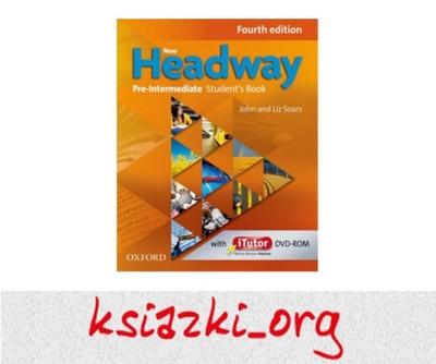 NEW Headway 4 edycja PRE-INTERMEDIATE Podręcznik