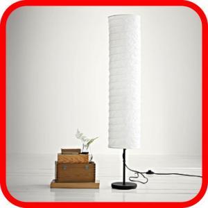 klosz do lampy podłogowej papierowy