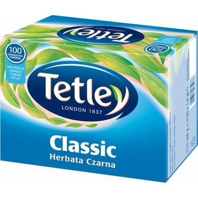 Tetley Classic herbata czarna 100 torebek