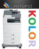 Lexmark x792 kolor laser ksero skan faks 15k str