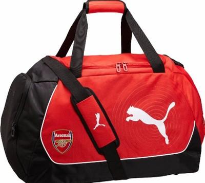 0dac0c57d Torba sportowa PUMA ARSENAL LONDYN MEDIUM BAG - 6346552337 ...