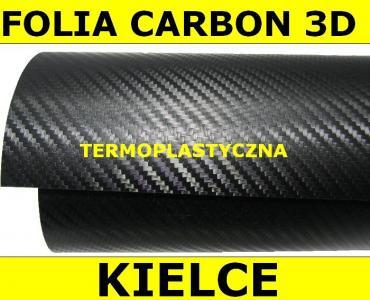 OKLEINA CARBON MAT 3D FOLIA VINYL TERMOPLASTYCZNA