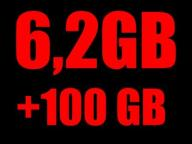 6 gb 106 gb INTERNET KARTE ORANGE FREE 3g LTE WAWA