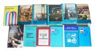 Książki, podręczniki język francuski, 12 szt. 4 kg