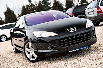 Czarny Lew Peugeot 407 Coupe 2 0 Hdi 136km Alu18 6763562873 Oficjalne Archiwum Allegro
