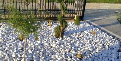 Otoczaki Białe Naturalne Kamienie Do Ogrodu Leszno