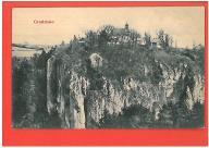 OJCÓW GRODZISKO POCZTÓWKA LATA 1910