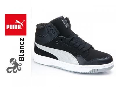 7777087c Ciepłe ZIMOWE buty Puma REBOUND męskie czarne 44 - 3778969086 ...