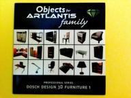 ARTLANTIS Objects - Dosch Design 3D Furniture 1 CD