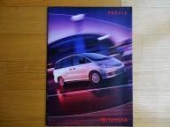 Prospekt Toyota Previa '01