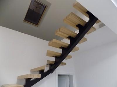 Cudowna Schody drewniane - nowoczesne projekty- pomorskie - 6701918070 BT84