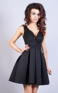 f77ad9b61c 34(XS) czarny sukienka mini krótka PW-1759 - 5861551947 - oficjalne ...