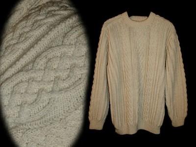 3334e6a92a44 Góra GÓRALSKI gruby sweter w góry CIEPŁY handmade XL - 6585856346 EH-83
