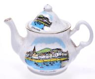 6081-93 ...POTTERIES... n#d PORCELANOWY DZBANEK