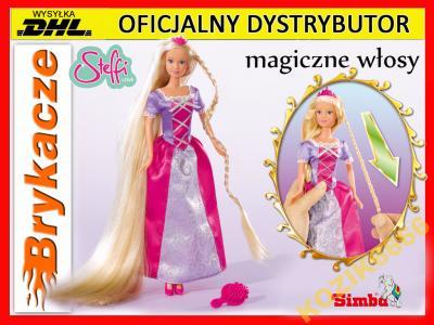 abad5faa44 SIMBA lalka Steffi ROSZPUNKA magiczne WŁOSY +    - 5803268453 ...
