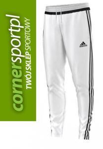 nowe wydanie przejść do trybu online bardzo popularny Spodnie dresowe Adidas TIRO 15 S91658 białe - XL