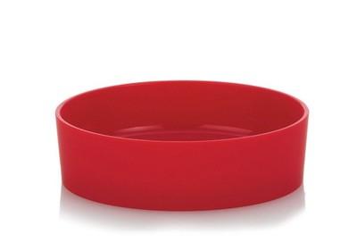 WYPRZEDAŻ mydelniczka okrągła czerwona KELA 21730