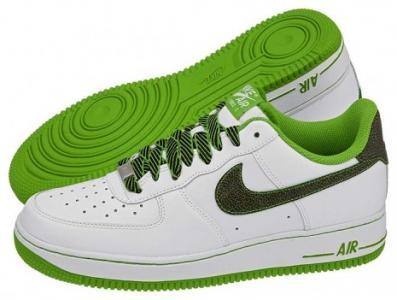 Buty Męskie Sportowe Nike Air Force 1 Białe r. 43