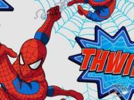 Tapeta Spider-Man Thwip! w rolkach spiderman ----