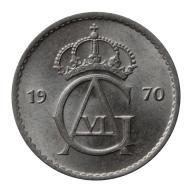 50 ore 1970 Szwecja Gustaw VI Adolf st.III