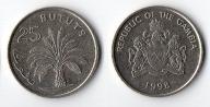 GAMBIA 25 BUTUTS 1998
