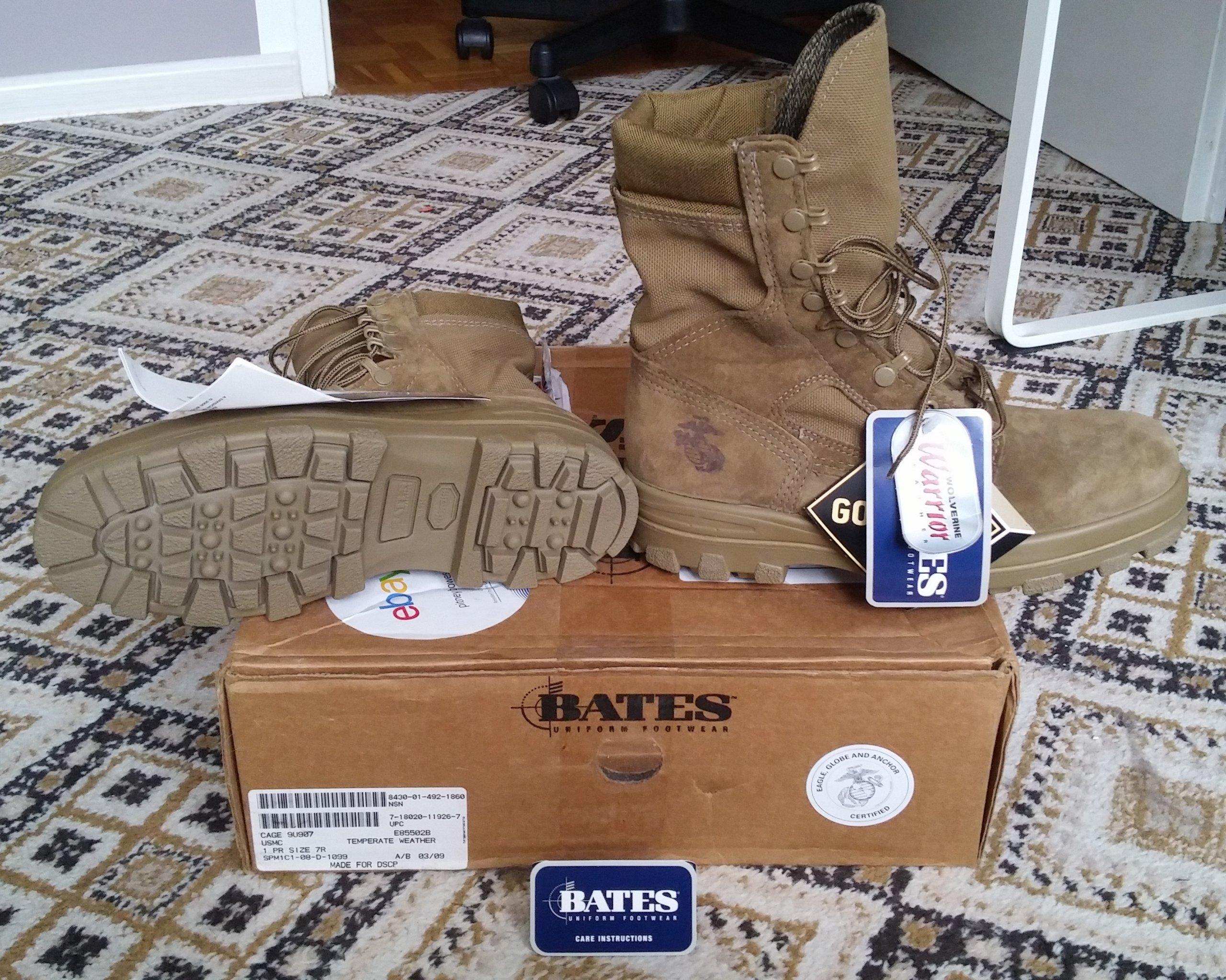 Nowe buty Bates 7R Gore-Tex Marines