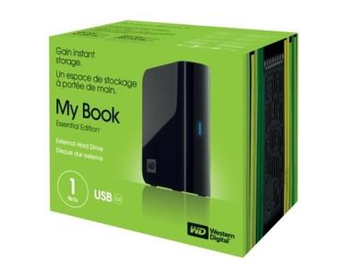 Dysk zewnętrzny WD My Book Essential USB 2.0 1TB