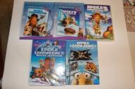 Epoka lodowcowa 1-2-3-4-5. 5 x DVD dubbing pl