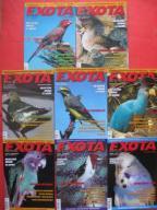 Papugi kanarki ptaki egzotyczne EXOTA 2007