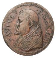 Watykan medal wizyt. ambasad. Kongo 1608 st.3/3+