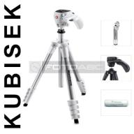 STATYW 151cm 1,5kg Manfrotto COMPACT ACTION Biały