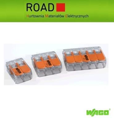 Szybkozłączki Wago ZESTAW 10x2tor 30x3tor 5x5tor - 5878001135 ... d486bfb9560a