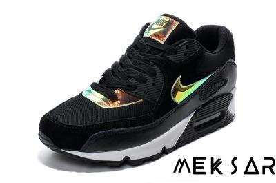 new arrival c8e78 d9230 Nike Air Max 90 Hologram Czarne Białe Złote Holo