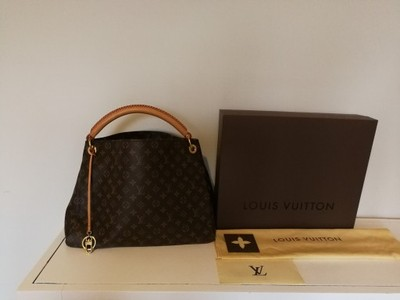 Oryginalna torebka Louis Vuitton ArtsyMM rachunek