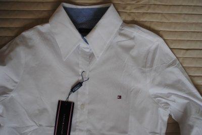 TOMMY HILFIGER koszula damska S(36) biała Zdjęcie na