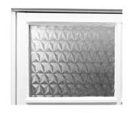 Folia okienna zazdroska klejona 200x60cm mozaika