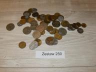 250 Zestaw monet Izrael - lot BCM