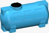 Zbiornik naziemny na wodę pitną Cisterna 300 L