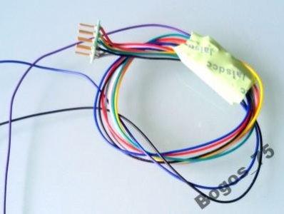 Dekoder jazdy DCC 4 funkcje 750mA H0 TT N NEM 652