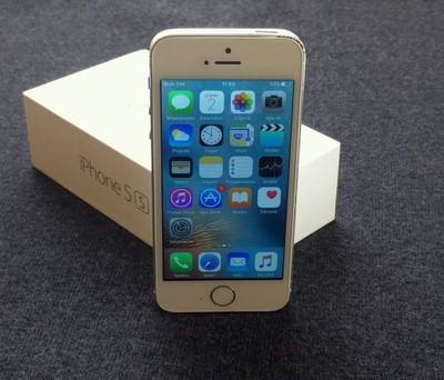 Uzywany Apple Iphone 5s 16gb Silver 6632119932 Oficjalne Archiwum Allegro