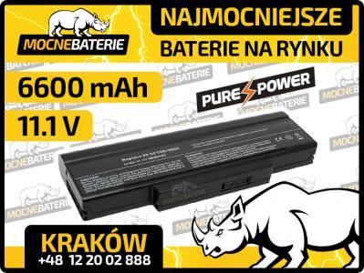 Bateria do laptopa Asus Pro57SE 6600mAh