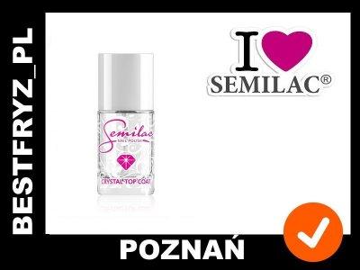 Semilac Crystal Top Coat - 12 ml
