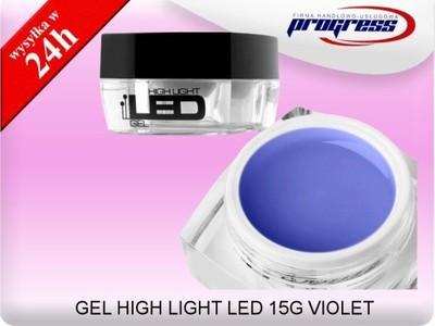 SILCARE GEL HIGH LIGHT LED 15G VIOLET