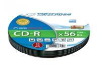 ESPERANZA CD-R SILVER 700MB/80min SOFT PACK 10szt.