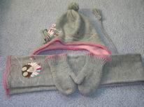 czapeczka szalik rękawiczki