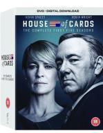 HOUSE OF CARDS (DOM Z KART) (SEZONY 1-5) 20 DVD+UV