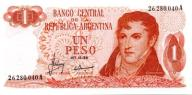 Argentyna 1 Peso 1970 P-287a.1