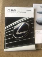Instrukcja obsługi lexus ct200h polska wersja